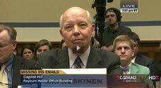 GOP effort to impeach Koskinen gets pushback, internally and from tax law profs (IRS Commissioner John Koskinen at House Oversight hearing_June 23 2014)