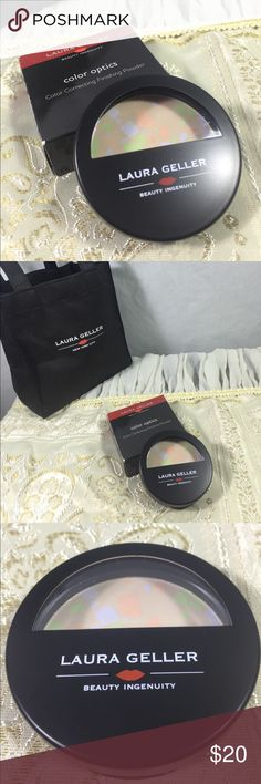 Color Optics Color Correcting Finishing Powder New never used.   The powder comes with box.      BG Laura Geller Other
