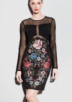High Neck Dress, My Style, Floral, Shopping, Dresses, Fashion, Turtleneck Dress, Vestidos, Moda