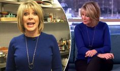 Ruth Langsfords This Morning outfit: Star looks cool in blue on the ITV show Ruth Langsford, Itv Shows, Looks Cool, Cool Stuff, Stars, Chic, Blue, Outfits, Fashion