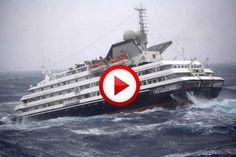 Dramatic Video Of Clelia II Antarctic Cruise Ship Video #accidents, #oceans, #ships, #videos, #pinsland, https://apps.facebook.com/yangutu