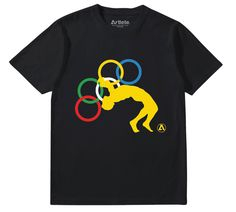 Olymplex / Save Olympic Wrestling Tee