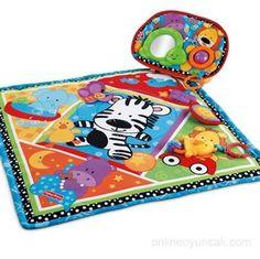 Oyununa sevimli dostlarını da çağır. http://www.onlineoyuncak.com/?urun-10333-fisher-price-sevimli-hayvanciklar-oyun-mati