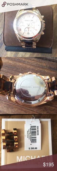 Authentic Michael Kors Watch Nice watch, perfect for any outfit Michael Kors Jewelry