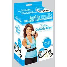Walk at Home | 3 Mile Calorie Blast! DVD and Walk Belt