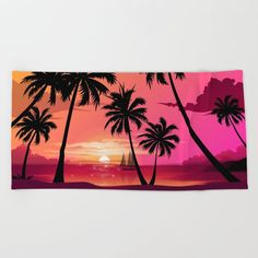Oversized Beach Towels, Wear Sunscreen, Meet The Artist, Good Mood, White Cotton, Swimming, Tapestry, Sea, Sunset