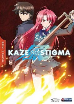 Kaze No Stigma was the second anime I ever watched , and it is still one of my favorites, Watched this one dubbed.
