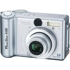 Powershot A95, my first digital camera