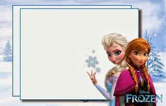 Free Printables for the Disney Movie Frozen Disney Frozen Party, Frozen Birthday Party, Frozen Theme Party, Free Frozen Invitations, Frozen Birthday Invitations, Free Printable Invitations Templates, Free Printables, Frozen Background, Anna Und Elsa