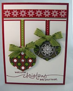using retired SU Christmas Lane scrappin' kit from 2011 - thanks Beth Stampin Up Christmas, Christmas Gift Tags, Winter Christmas, Christmas Time, Christmas Crafts, Merry Christmas, Christmas Decorations, Christmas Ornaments, Christmas Ideas