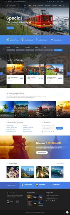 #Travel Tour is a #premium responsive #WordPress theme that comes with the most complete #tour #management system. This theme is especially designed for #tour #operator The system is integrated with plenty of necessary features.