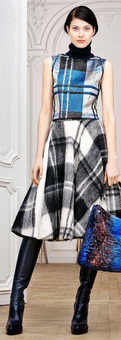 Pre-Fall 2014 - Christian Dior.                       I love this, it fun elegance...