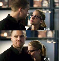 Arrow - Oliver & Felicity #3.23 #Season3 #Olicity