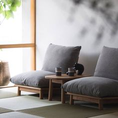 Japanese Home Design, Japanese Home Decor, Japanese Interior, Modern Interior Design, Japanese Living Rooms, Home Furniture, Furniture Design, Bedroom Seating, Floor Seating