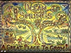 Ocean Springs, MS. ♥