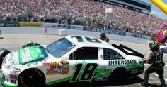 Kyle Busch qualified on the pole for the Lenox Industrial Tools 301 NASCAR Sprint Cup Series race at New Hampshire Motor Speedway in Loudon. The driver of the No. 18 Interstate Batteries Toyota Camry for Joe Gibbs Racing (JGR) turned a lap of 28.548 seconds at 133.417 mph on the 1.058-mile oval.