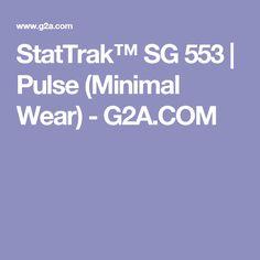 StatTrak™ SG 553 | Pulse (Minimal Wear) - G2A.COM