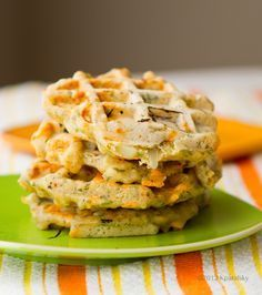 Savory Waffles: Herb Cheese  I really love these! Use your favorite gluten free flour to make them a gluten free alternative for sandwich bread. The remind me of cheddar bay biscuits in taste.