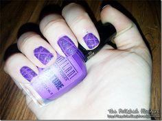 Kimber's Mish Mash Challenge Week 1: Purple #nails #nailart #milani #simplepleasures