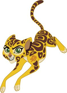 Fuli, confident and prideful, always likes to show off her incredible speed as a member of The Lion Guard. Catch her in The Lion Guard this Friday morning on Disney Channel