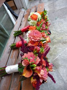 Fall Bouquets 2011