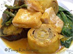 Tofu Kare-Kare (Kare-Kareng Gulay at Tokwa) ~ Pinoy Kitchenette