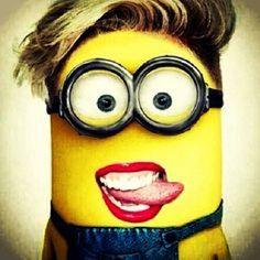 Miley Cyrus minion