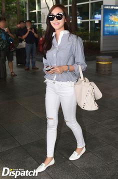 Jessica Jung Airport Fashion 150828 2015