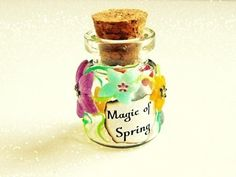 ▶ Magic of Spring Bottle - Polymer Clay Tutorial by PolymerClayMichelle - How To - YouTube