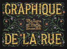 Graphique de la Rue // Louise Fili //