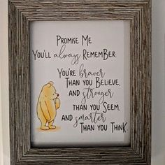 Classic Winnie The Pooh Quote Nursery Prints Color Collection 2 | Printable Nursery Artwork | Classic Children, Kids, Baby Nursery Prints
