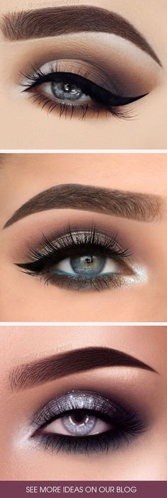 Grey eyes are just stunning. And with the right combo of eye makeup, you can really make your gorgeous eyes stand out! Check out our favorite makeup looks.mak