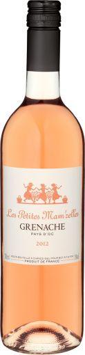 Grenache #Rosé VdP 2011, Les Petites Mam'zelles, #Roséwein Languedoc-Roussillon 0,75 l #Weihnachten #sinnlich #Geschenkideen