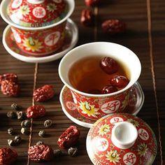 Tea Recipes, Fruit Recipes, Easy Healthy Recipes, Asian Recipes, Jujube Tea, Jujube Fruit, Fruit Drinks, Yummy Drinks, Ginger Tea