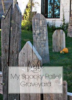 My Spooky Pallet Graveyard