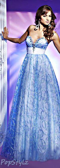 Tony Bowls Princess Gown
