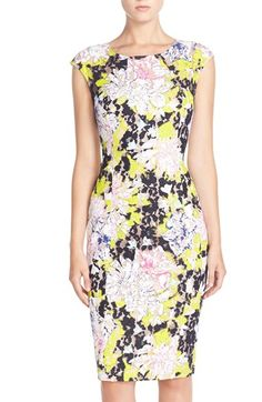 French Connection 'Tripp' Lace Sheath Dress available at #Nordstrom