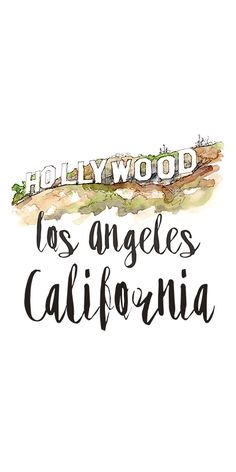 My 10 Favorite Things to Do in LA Hollywood, Los Angeles, California California Tumblr, California Dreamin', Hollywood California, Wallpaper California, Los Angeles Wallpaper, Usa Tumblr, Travel Wallpaper, Travel Illustration, Instagram Highlight Icons