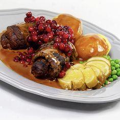 Vill du göra en klassisk söndagsmiddag, då är det med denna rätt som du ska locka familj och vänner till bordet - dessutom perfekt att förbereda och tillag Pot Roast, Deli, Love Food, Crockpot, Food And Drink, Dinner, Ethnic Recipes, Ska, Carne Asada