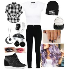 Going to School by kpop-star-xox on Polyvore featuring STELLA McCARTNEY, O.X.S and Brian Lichtenberg
