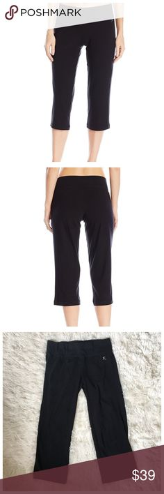 Danskin Yoga Pants Brand new without tags! These sleek crop pants are perfect for yoga, fitness or lounging! Made of cotton, spandex and polyester. Fit XS or size 0-2. Danskin Pants Leggings