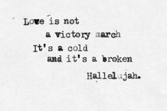 hallelujah lyrics | hallelujah, lyrics, text - inspiring picture on Favim.com