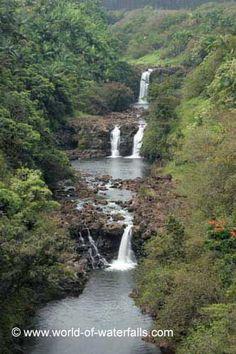Umauma Falls (Hamakua Coast, Big Island of Hawaii, USA)