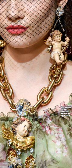 Dolce & Gabbana Fall18 Details