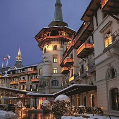 While spending Christmas at home is always lovely, why not take a trip across the globe to see how the exotic locale of another country celebrate the holidays? Check out some of our top destinations that you can still book now. Christmas Markets Europe, Christmas Travel, Christmas Vacation, Christmas 2017, Christmas Time, Christmas Ideas, Norman Foster, Hotel S, Grand Hotel