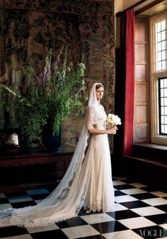 An English Wedding: Jacquetta Wheeler's Nuptials at Chilham Castle - Magazine - Vogue