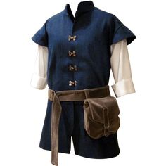 Men Medieval Tunic found on Polyvore