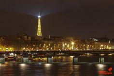 Lumières parisiennes - Cours photo de nuit - Grainedephotographe.com