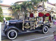 """Curiosidasdes: Este ilustre """"Carro Fúnebre transportou o caixão do Presidente GETÚLIO VARGAS em São Borja - RS em 1954."""