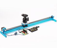 Have you ever imagined that you can also DIY your own camera slider? You just need several beams, a stepper motor, a MegaPi to build the main. Camera Rig, Camera Tripod, Camera Hacks, Camera Gear, Lego Camera, Dslr Cameras, Photography Camera, Iphone Photography, Photography Tips